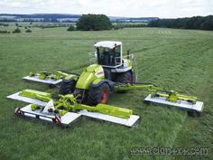 Claas 50ft self propelled mower