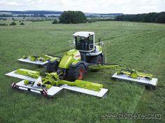 Claas 50ft self propelled mower