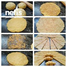 Cevizli Tarcinli Rulo kurabiye
