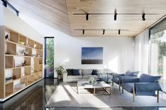 White & Wood: Webster St House by Moloney Architects