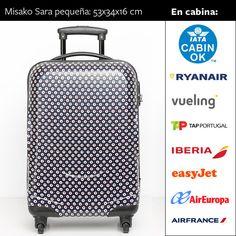 0a39f20e3 Guía de equipaje de cabina: ¡Viaja sin facturar. Maletas De Viaje  PequeñasMaletas ...