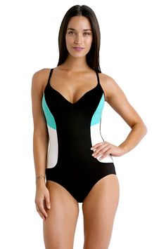 7fa6035029413 Isola Cutting Edge D Cup Panelled One Piece swimweargalore