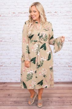 Plus Size Fashion Blog, By Your Side, Neutral Colors, Taupe, Size 12, Easter, Boutique, Chic, Pretty