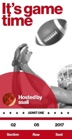 Are you ready for some football? I created my custom game day playbook with the Pinterest Most Valuable Party Planner. Get your game on at PinterestMVPP.com