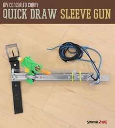 DIY Concealed Carry Quick Draw Gun Sleeve | Instructions from #survivallife www.survivallife.com