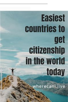 Second Citizenship opens the world up for you.  Find out where the easiest places are in the world to get citizenship #citizenship #worldtravel #passport Cool Countries, Countries Of The World, Getting A Passport, Visit Cyprus, Local Banks, List Of Skills, Living In Europe, Visit Portugal, Being In The World