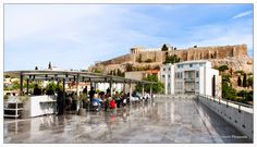 Photo Mania Greece: Η Ακρόπολη όπως φαίνεται από το μουσείο Ακρόπολης!... Acropolis, Greece, Museum, Mansions, House Styles, Greece Country, Villas, Museums, Palaces