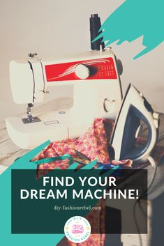 This FREE guide walks step by step through the major features of a sewing machine.   You'll learn:  - Which Features to Look For  - What Those Features Do  - And How to Determine if you need Those Features for your Projects  PLUS! You'll also get access to my Dream Machine Checklist!  Whether you're an absolute beginner or a seasoned sewist, repin and click through to find the sewing machine of your dreams.  #beginnersewingprojects #fashionstyle #sewingtips Easy Sewing Projects, Sewing Projects For Beginners, Sewing Hacks, Sewing Tips, Sewing Machine Basics, Sewing Machine Reviews, Sewing Machines, Sew Your Own Clothes, Sewing Clothes