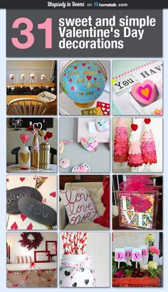 The mason jar with hearts and the globe are so pretty but I would be happy to make (or receive) any of these!