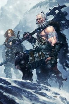 Diablo 3 barbarians