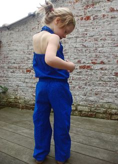 ASH Jumpsuit - Willow & Co patterns // Behind the Hedgerow 6mo-12y