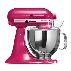 Buy KitchenAid Artisan Stand Mixer, Raspberry Ice from our Food Mixers range at John Lewis. Free Delivery on orders over Kitchenaid Artisan Stand Mixer, Pink Kitchenaid Mixer, Copper Kitchen Aid, Kitchen Aid Artisan, Artisan Food, Kitchen Aid Appliances, Kitchen Aid Mixer, Kitchen Gadgets, Small Appliances