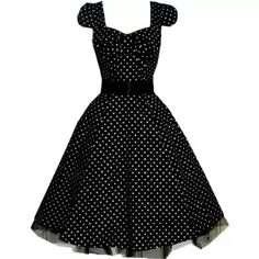 Gonna have to invest in the classic black and white polka-dot dress! I might even go crazy and get a red belt.