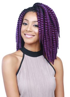 "Done perfectly - clean and crisp ends. Bobbi Boss Senegal Bomba Skinny Twist 3 PC 8"" + 10"" + 12"""