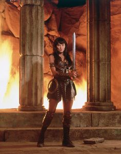 ★ Xena: Warrior Princess ★ #Xena #Lucy_Lawless