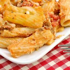 Clean Eating Baked Italian Ziti