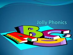 jolly-phonics-powerpoint by belinda77 via Slideshare