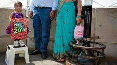 Die kleinste Frau der Welt kommt aus Indien.