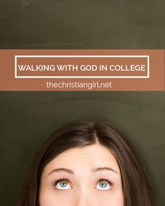 """If we fail to recognize the importance of fostering our relationship with Him, we will fall victim to the anxieties, burdens, and temptations that come with being a college student. Intimacy and fellowship with Him is the only way to occupy the position of excellence you have been called to as a child of God."" Today on TCG we are giving all #thestudiousgirl's out there some tips on how to walk with God through college. 