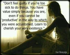Don't feel guilty if you're too sick to do things. Fibromyalgia/chronic fatigue and other chronic illnesses Chronic Migraines, Chronic Illness, Chronic Pain, Mental Illness, Endometriosis Uk, Fibromyalgia Quotes, Fibromyalgia Pain, Nostalgia, Ehlers Danlos Syndrome