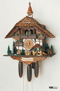 Cuckoo Clock 8-day-movement Chalet-Style 60cm by Anton Schneider @Ben Norman