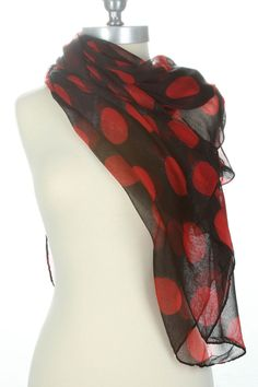 Excite Comedy Of Scarf In Red
