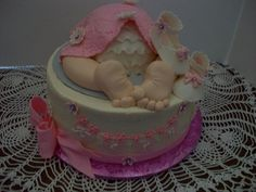 This Baby Rump is a combined cake from three cake central decorators, Aldoska, Dream cakes by Julianna and jennrocque, Thank you for the ideas and patterns. Love your work, all of you.Butter cream iced with gum paste and fondant accents. Thanks for looking Baby Bottom Cake, Cupcake Cookies, Cupcakes, Cake Central, Dream Cake, Gum Paste, Babyshower, Fondant, Cake Decorating