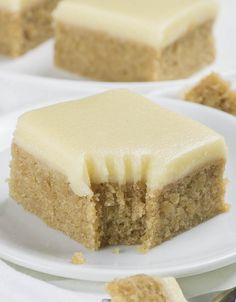 Banana Bread Blondies - Chocolate Dessert Recipes - OMG Chocolate Desserts
