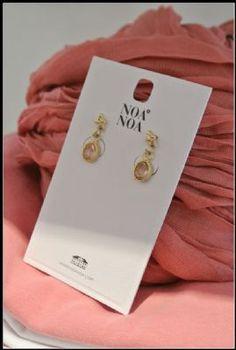 Noa Noa Leila Earrings 1-2475-1 in Ant. Brass