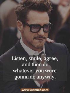 funny motivational quote robert downey   #motviationalquotes #robert downey