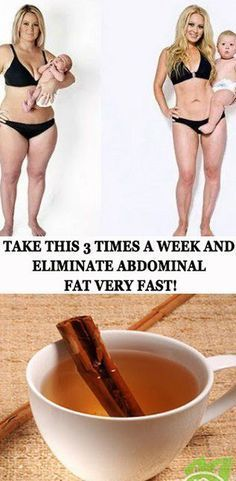 Health: Take this 3 times a week and eliminate abdominal fat very fast!