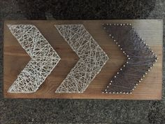Arrows string art by RusticDecora on Etsy