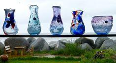 Lofoten Design is known for the art of glass blowing, Always worth a visit! Art Of Glass, Glass Vase, Lofoten, Travel, Beautiful, Design, Decor, Women, Viajes