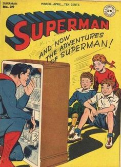 Superman #39 The Big Superman Broadcast; The Monster of China Deep; Swindle in Sweethearts! March 1946