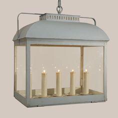 Delaware Hanging Lantern - Paul Ferrante27″w x 17.5″d x 27″h