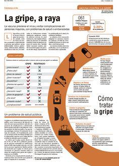 Artículo sobre la Campaña de la Gripe. La Vanguardia. Cristina Catalán
