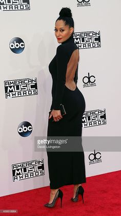 Actress Tracee Ellis Ross Attends The 42nd Annual American Music Awards At  The Nokia Theatre L.A. Great Ideas