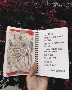 — self love ✨ // poetry by noor unnahar // art journal journaling ideas inspiration notebook stationery, teen artists diy craft Tumblr hipsters aesthetics floral flowers, Instagram photography, poets instapoet writers of color writing, words quotes inspiring creativity creative //