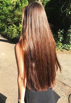 Love her hair! Long Brown Hair, Long Layered Hair, Very Long Hair, Black Hair, Beautiful Long Hair, Gorgeous Hair, Chelsea Houska Hair, Pretty Hairstyles, Wedding Hairstyles
