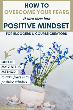 Struggling with your positive thinking mindset and motivation? As an online entrepreneur, it is exciting but your mindset fears can overwhelm & impact the success of your online business. Would it not be great to overcome your fears as an online entrepreneur and turn them into a positive mindset? Click through & check how to face your fears with my step by step method to turn fear into positive thinking mindset. Healthy mindset #mindset #fear #girlboss #selfcare #coursecreator… Fixed Mindset, Change Your Mindset, Coaching, Transform Your Life, Online Entrepreneur, Do You Know What, Self Care Routine, Health Advice, Positive Mindset