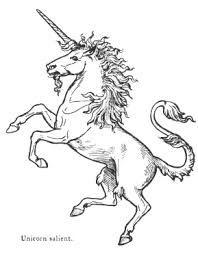 unicorn old english art - Google Search
