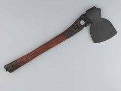 Maori fighting 'Toki Poto' axe, c1868