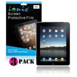 IONIC Screen Protector Film MATTE (Anti-Glare) for Apple iPad 2, iPad 3, iPad 4, iPad 2nd, iPad 3rd, iPad 4th Generation AT Verizon 4G LTE (3-pack)[CrazyOnDigital Retail Package] (Personal Computers)By CrazyOnDigital