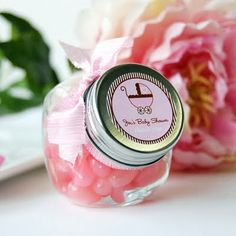 girl  baby shower ideas | ...personalized candies. You better believe that I would have my baby ...