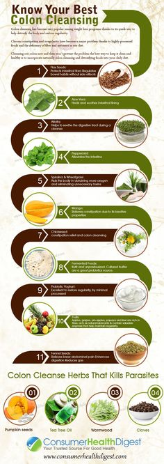 Know Your Best Colon Cleansing Foods
