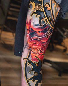 tatouage dos conception japonaise - tatouage dos conception japonaise The Effective Pictures We Offer You About diy face mask sewin - Oni Tattoo, Hannya Maske Tattoo, Irezumi Tattoos, Samoan Tattoo, Geisha Tattoos, Japanese Tattoos For Men, Japanese Tattoo Art, Japanese Tattoo Designs, Japanese Sleeve Tattoos