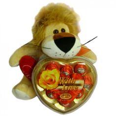 Leo the Loving Lion Gift Set to Liechtenstein