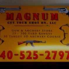 Magnum get your shot on! 740-525-2797