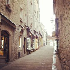 A street in San Marino city center | Flickr – Condivisione di foto!