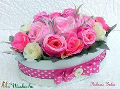 Rusztikus rózsabox  (KÉSZTERMÉK) (pinkrose) - Meska.hu Cake, Desserts, Food, Pie Cake, Tailgate Desserts, Pie, Deserts, Cakes, Essen